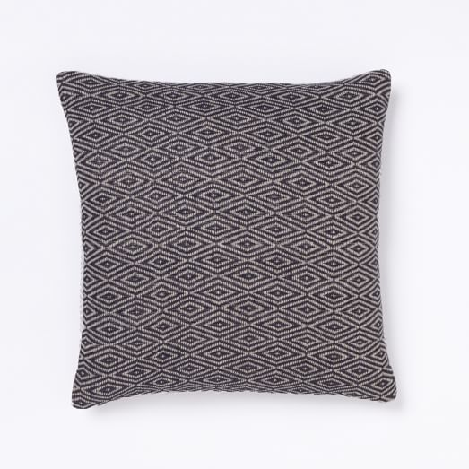 Handloom Diamond Pillow Cover, 20