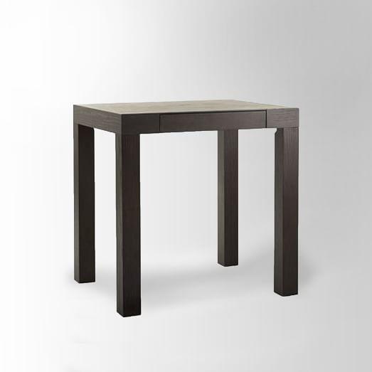 Parsons Mini Desk, Chocolate-Stained Veneer