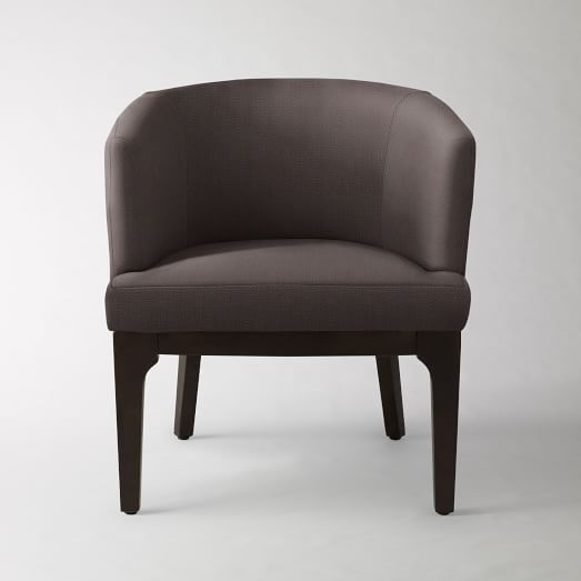 Oliver Chair, Basketweave, Iron
