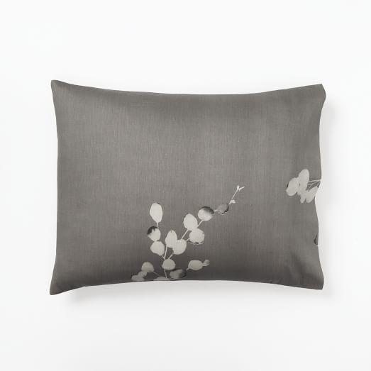 Moonflower Standard Sham, Stone