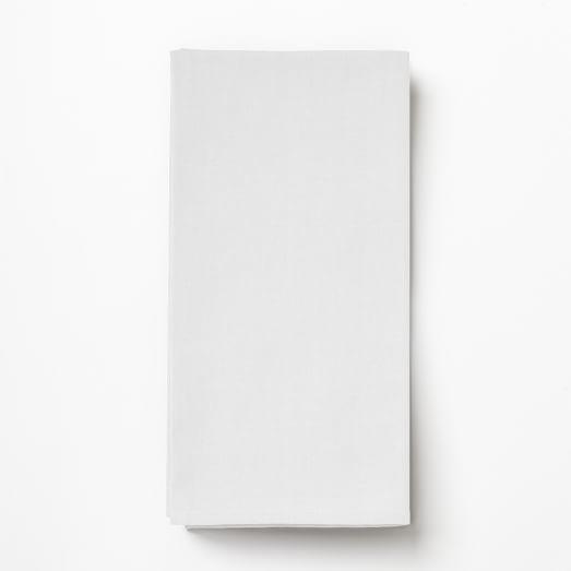 Cross Dye Basic Napkin, Set of 4, White