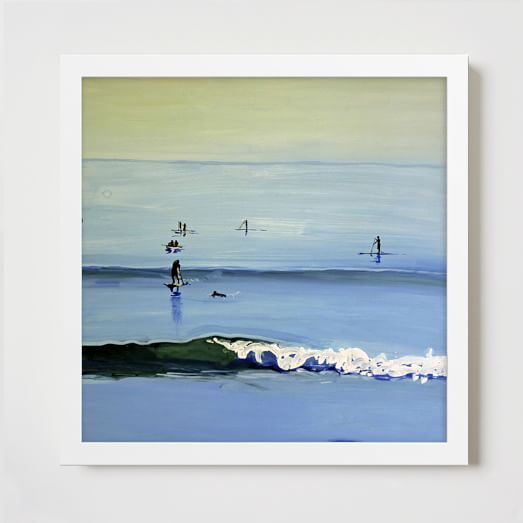 Minted for West Elm, Wave By Seaton