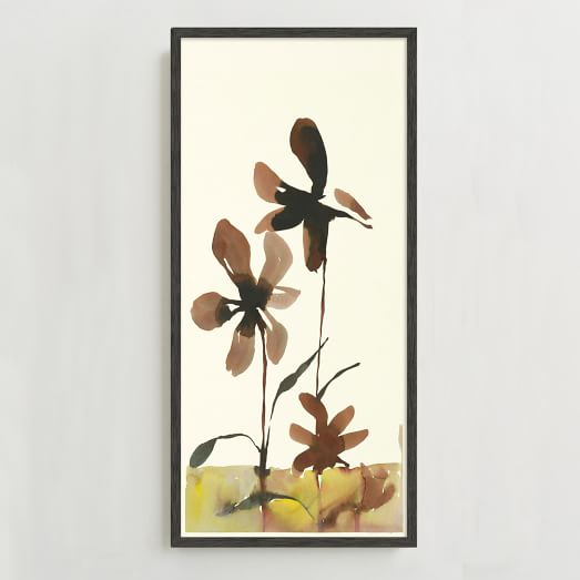 WE Print Collection, Watercolor Flowers