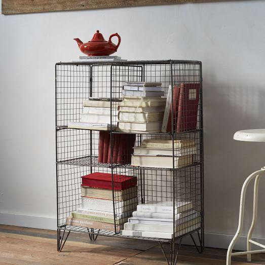Small Wire Bookcase
