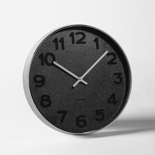 Tonal Color Wall Clock, Medium