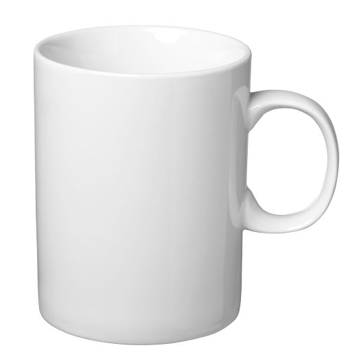 Essential Dinnerware, Mug, Set of 4, White