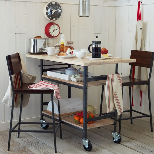 Design Workshop Wood Top Counter