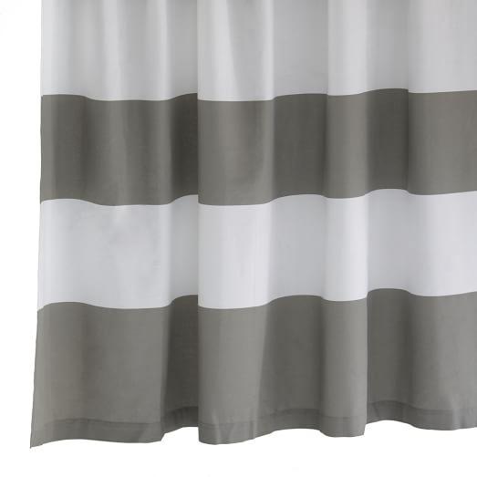 Stripe Shower Curtain, 72
