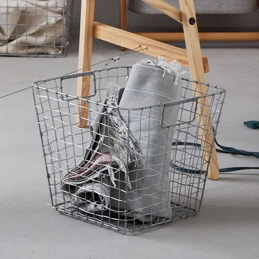 Wire Mesh Collection, Storage Basket