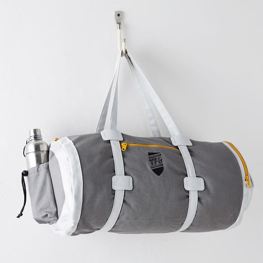 Fitness Guru Gym Bag, Gray