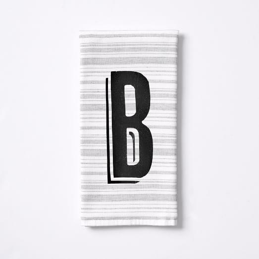 Spa Stripe Towel, Hand Towel, White/Anthracite, Digital Print Option