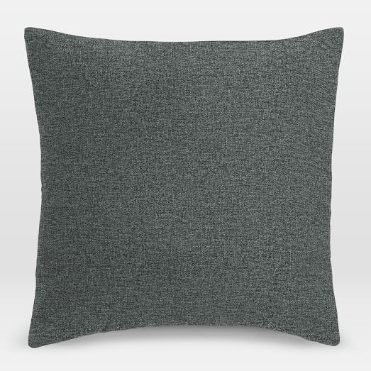 upholstery fabric pillow cover twill west elm. Black Bedroom Furniture Sets. Home Design Ideas