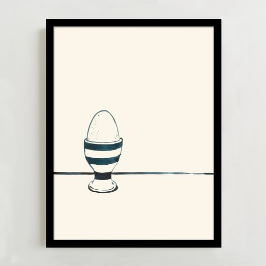 WE Print Collection, Egg in a Cup
