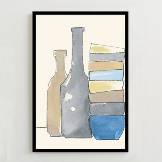 WE Print Collection, Bottles and Bowls