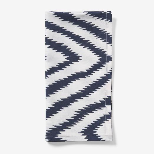 Safari Cotton Napkin, Medium Blue, Set of 4