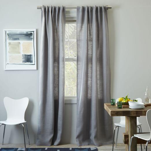 Burlap Curtain, 44