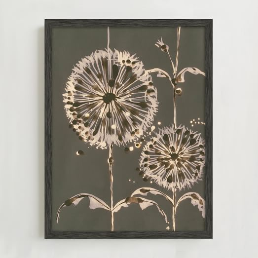 WE Print Collection, Dandelion Puffs