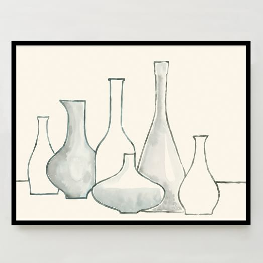 WE Print Collection, Bottles and Vases