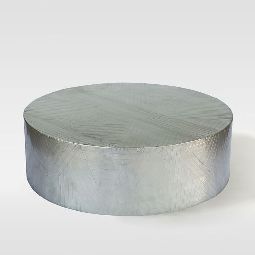 Etched Metal Coffee Table West Elm