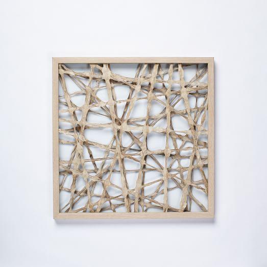 Handmade Paper Wall Art, Irregular