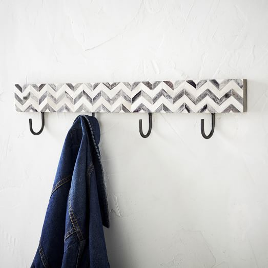 Parsons Multi Hook, Gray Bone