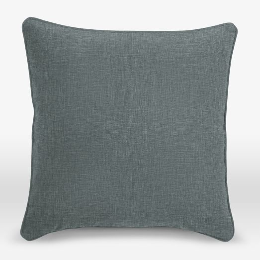 Upholstery Fabric Pillow Cover, Welt Seam, 18