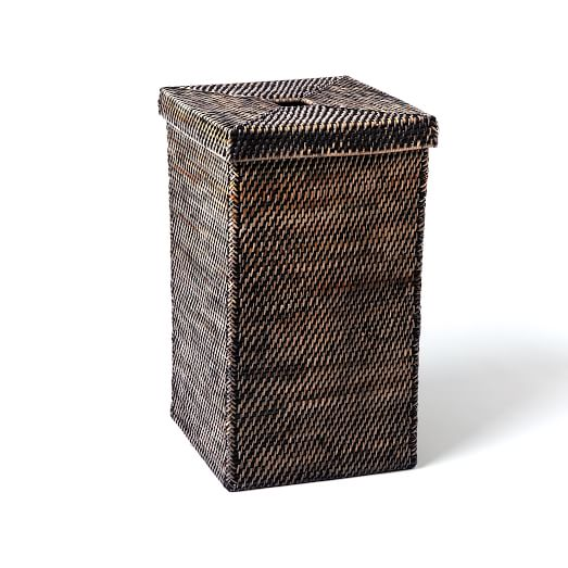 Modern Weave Tall Basket west elm