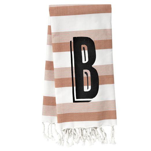 Woven Stripe Hand Towel, 20