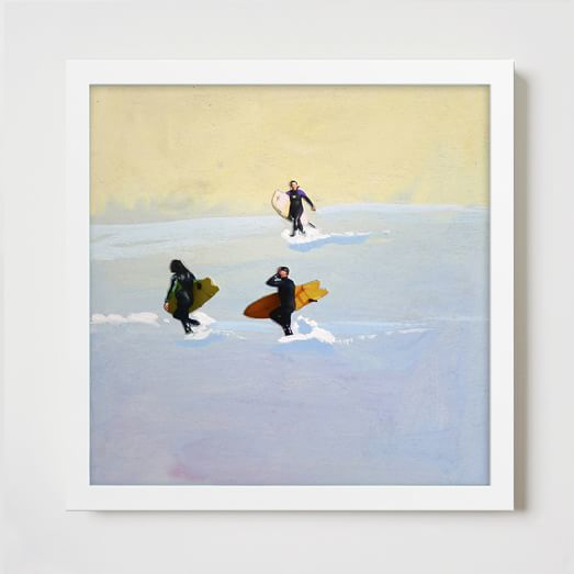 Minted for West Elm, 3 Surfers By Seaton