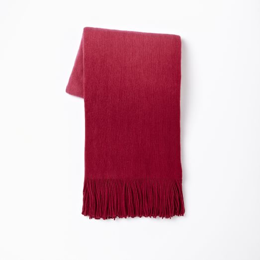 Softest Throw Ombre, Sangria