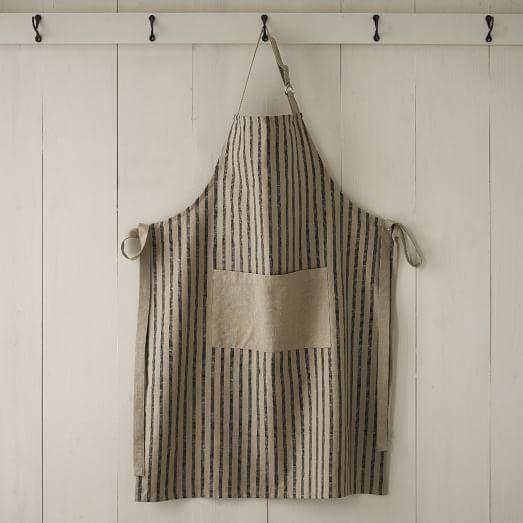 Kitchen Apron, Chef's Stripe, Iron