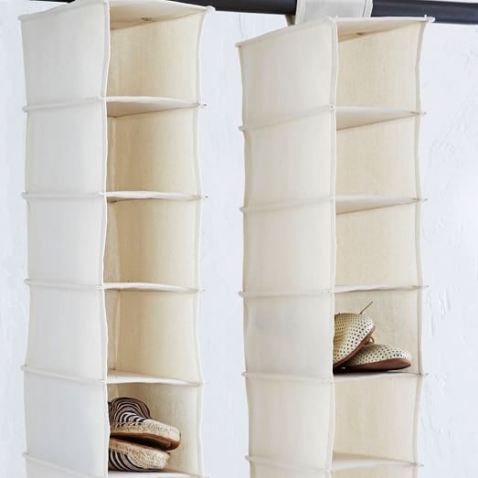 Canvas Hanging Shoe Organizer