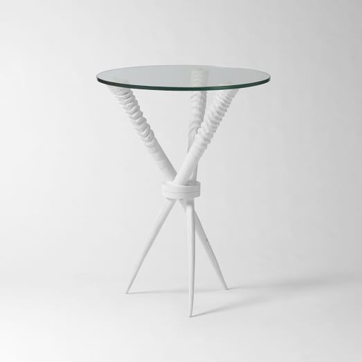 Source Oryx Side Table, White