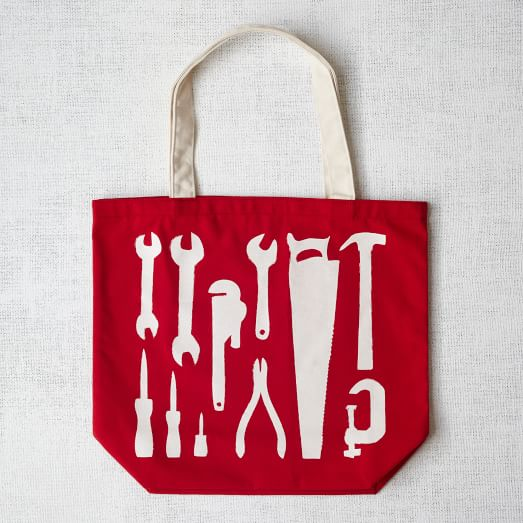 Market Tote Bag, Tools