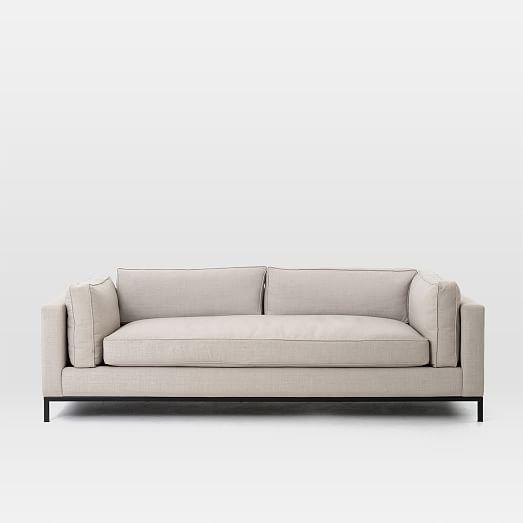 modern arm sofa west elm. Black Bedroom Furniture Sets. Home Design Ideas