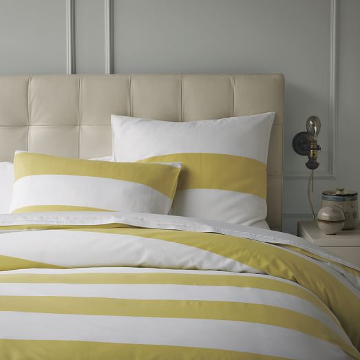 Make your whole bed feel like the cool side of the pillow with our signature long-staple cotton percale sheets.