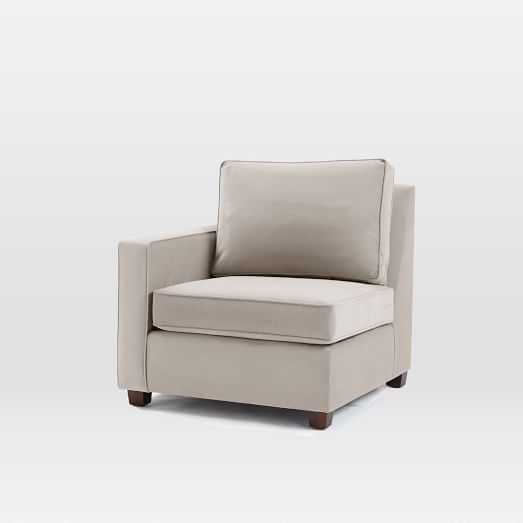 build your own henry sectional pieces gray west elm. Black Bedroom Furniture Sets. Home Design Ideas