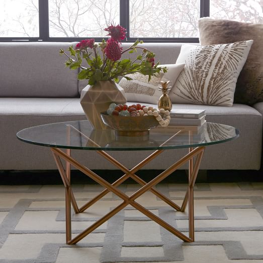 Metal Spindle Coffee Table