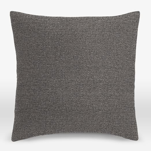 upholstery fabric pillow cover chenille tweed west elm. Black Bedroom Furniture Sets. Home Design Ideas