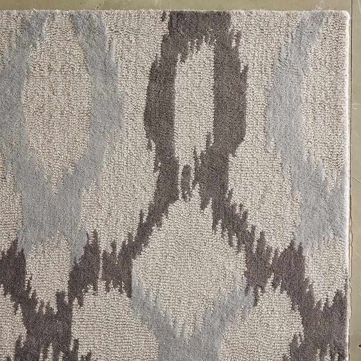 Area wool diy cleaning carpet
