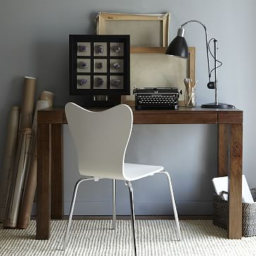 Parsons Desk Mango Wood West Elm