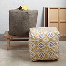 Poufs & Floor Pillows west elm