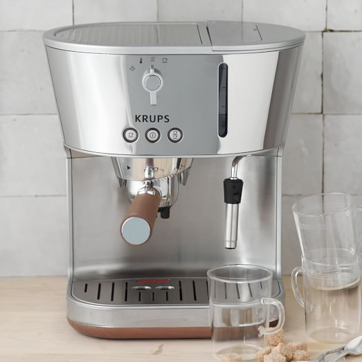krups espresso machine west elm. Black Bedroom Furniture Sets. Home Design Ideas