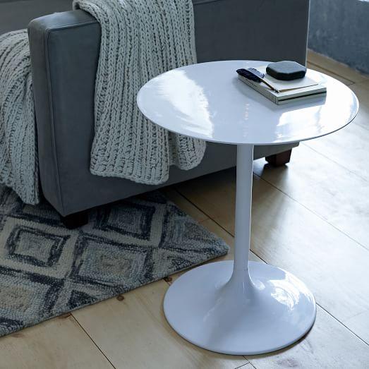 Modernist Pedestal Side Table West Elm