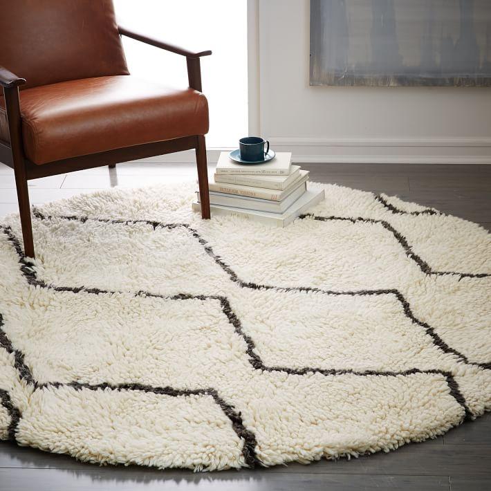 souk rug  round  west elm, 10' round ivory rug, 6' round ivory rug, 8' round ivory rug