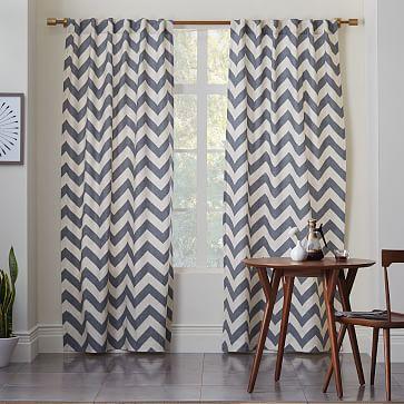 Curtains Ideas chevron curtains grey : Grey And White Chevron Print Curtains - Best Curtains 2017