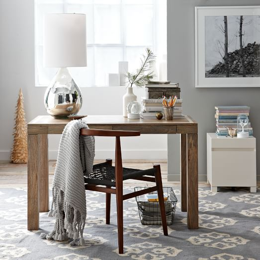 Parsons Desk Bone Inlay West Elm