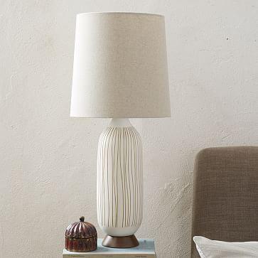 Mid Century Table Lamp Bullet West Elm
