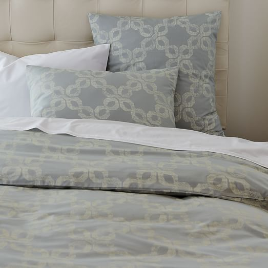 organic carved circles duvet cover shams west elm. Black Bedroom Furniture Sets. Home Design Ideas