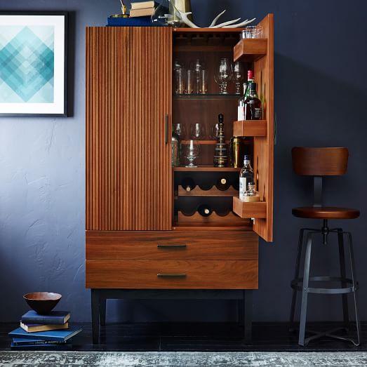 Reede Bar Cabinet - Tall